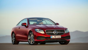 2017 Mercedes Benz E Class Coupe Wallpaper