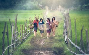 Asian Countryside, Girls