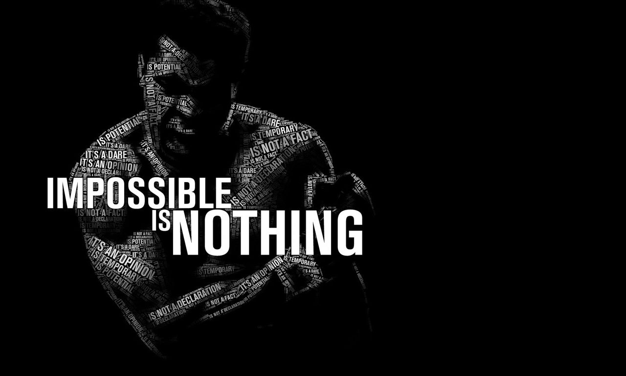 impossible is nothing - muhammad ali wallpaper - quotes hd