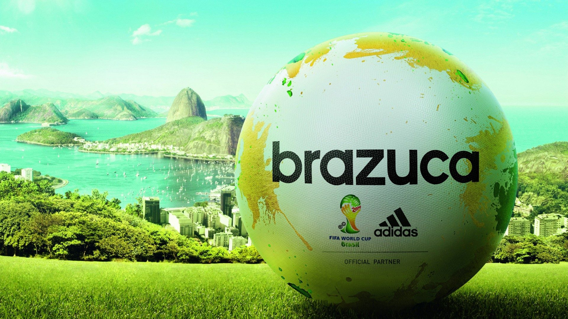 Soccer ball wallpapers 2014