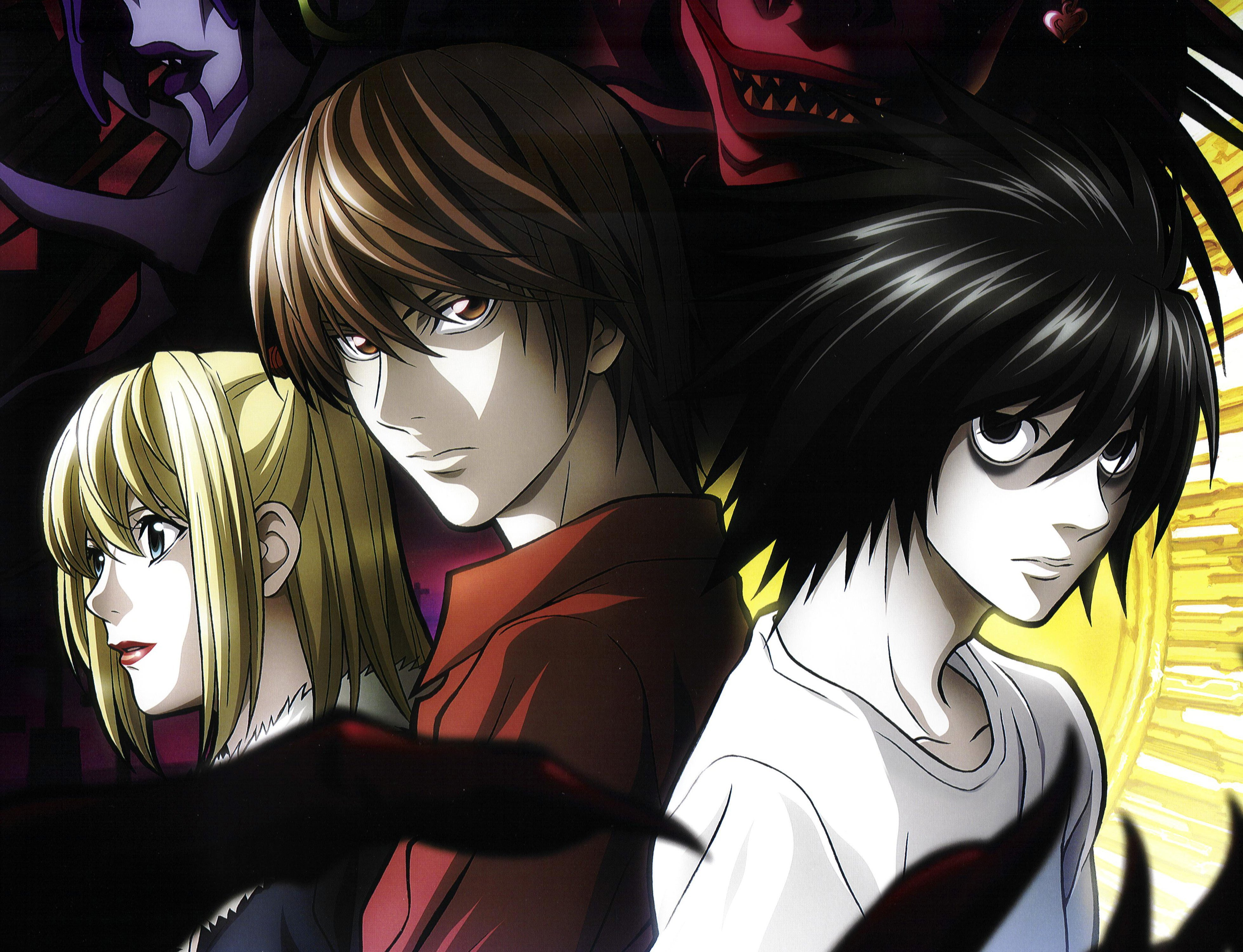 Death Note Yagami Light Kira L Lawliet Amane Misa