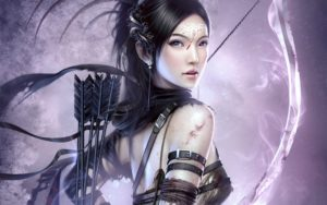 Fantasy Archer Girl Wallpapers