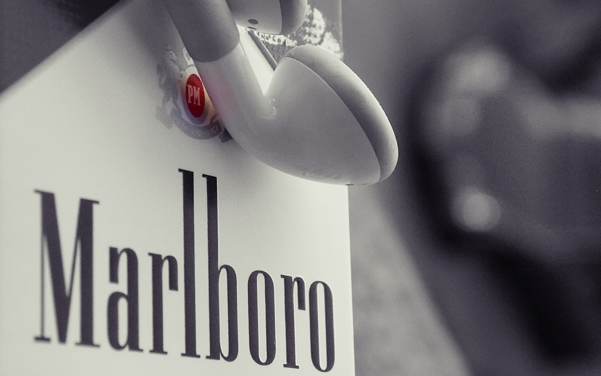 Marlboro Cigarettes Apple Headphones Brand 1920x1200 Wallpaper