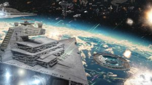 Star Destroyer HD desktop wallpaper