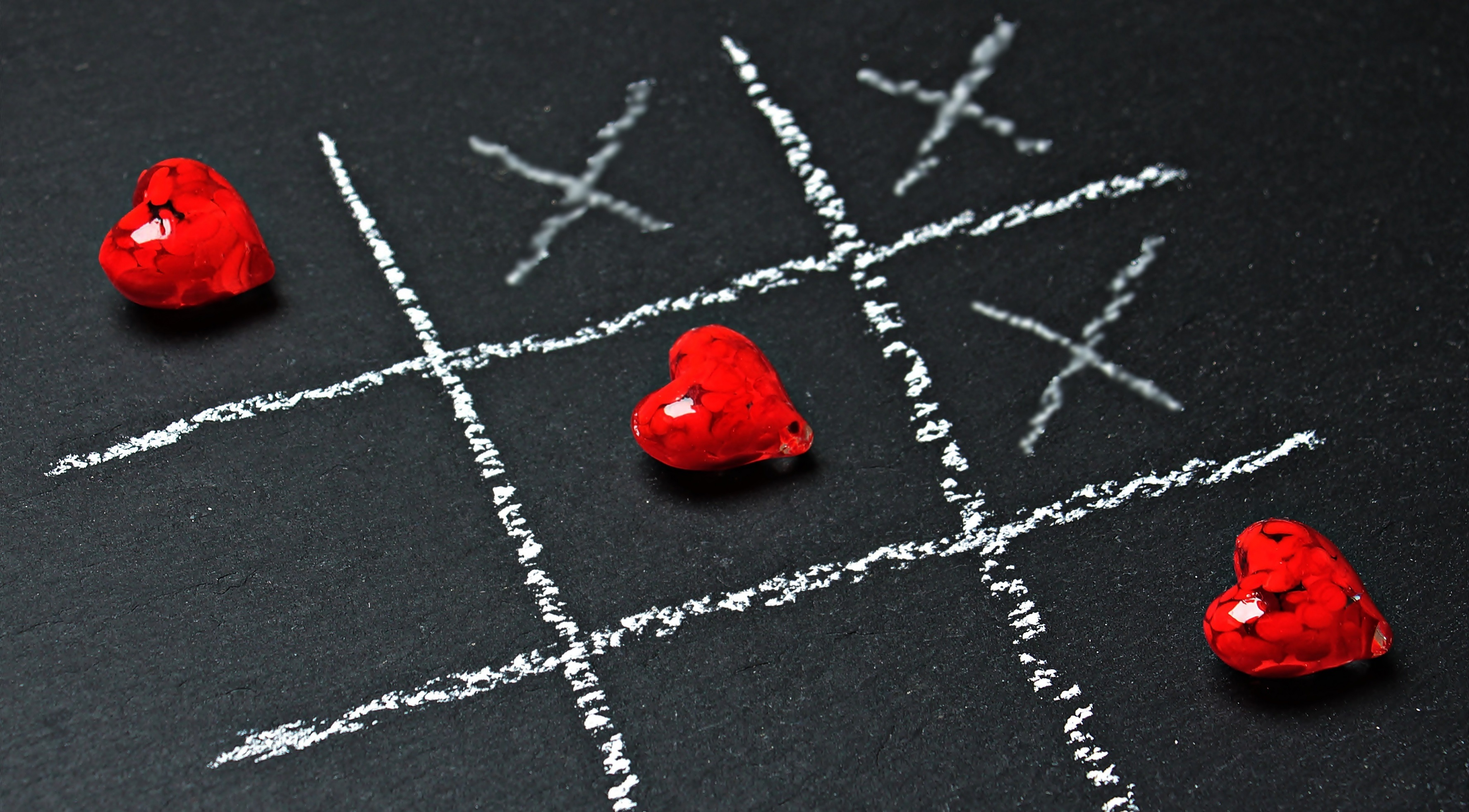 Tic Tac Toe Love Wins HD desktop wallpaper