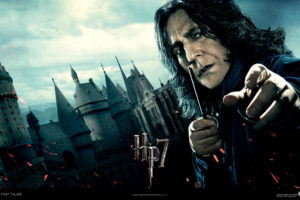 Harry potter and the deathly hallows Severus snape Alan rickman
