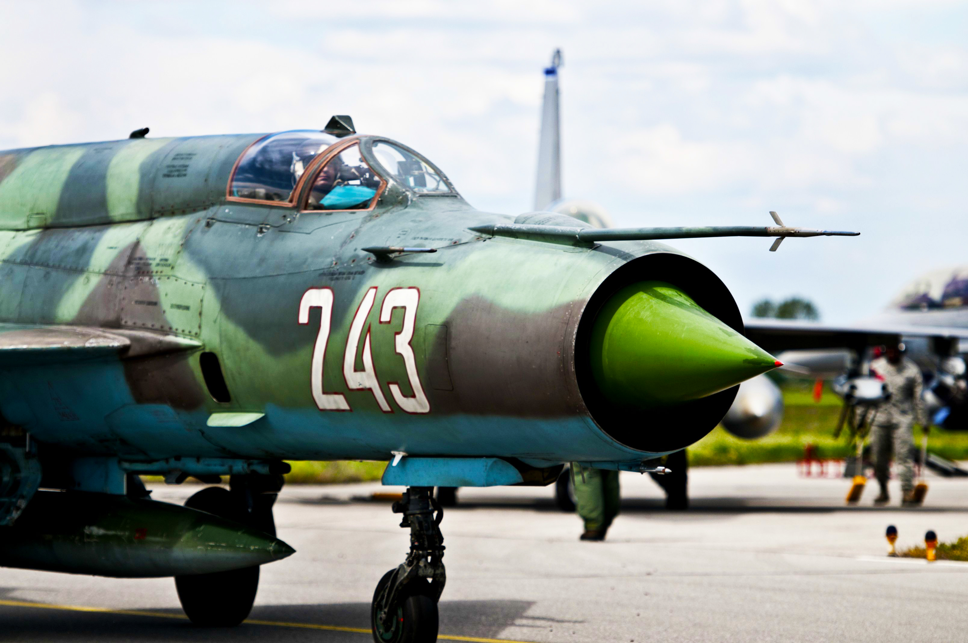 Mig-21 Fishbed Multipurpose fighter Aircraft Mikoyan