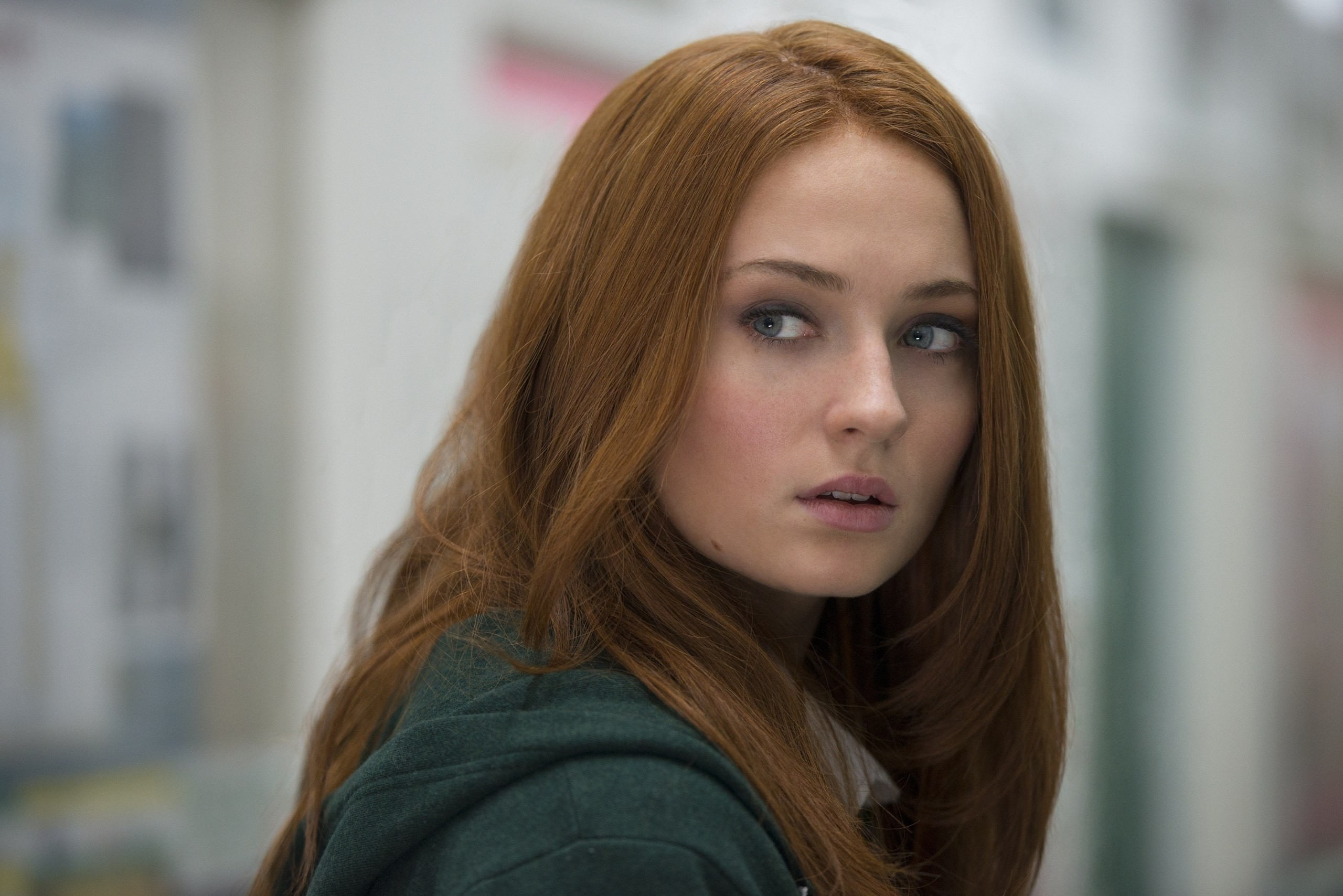 Sophie turner, Actress, Face