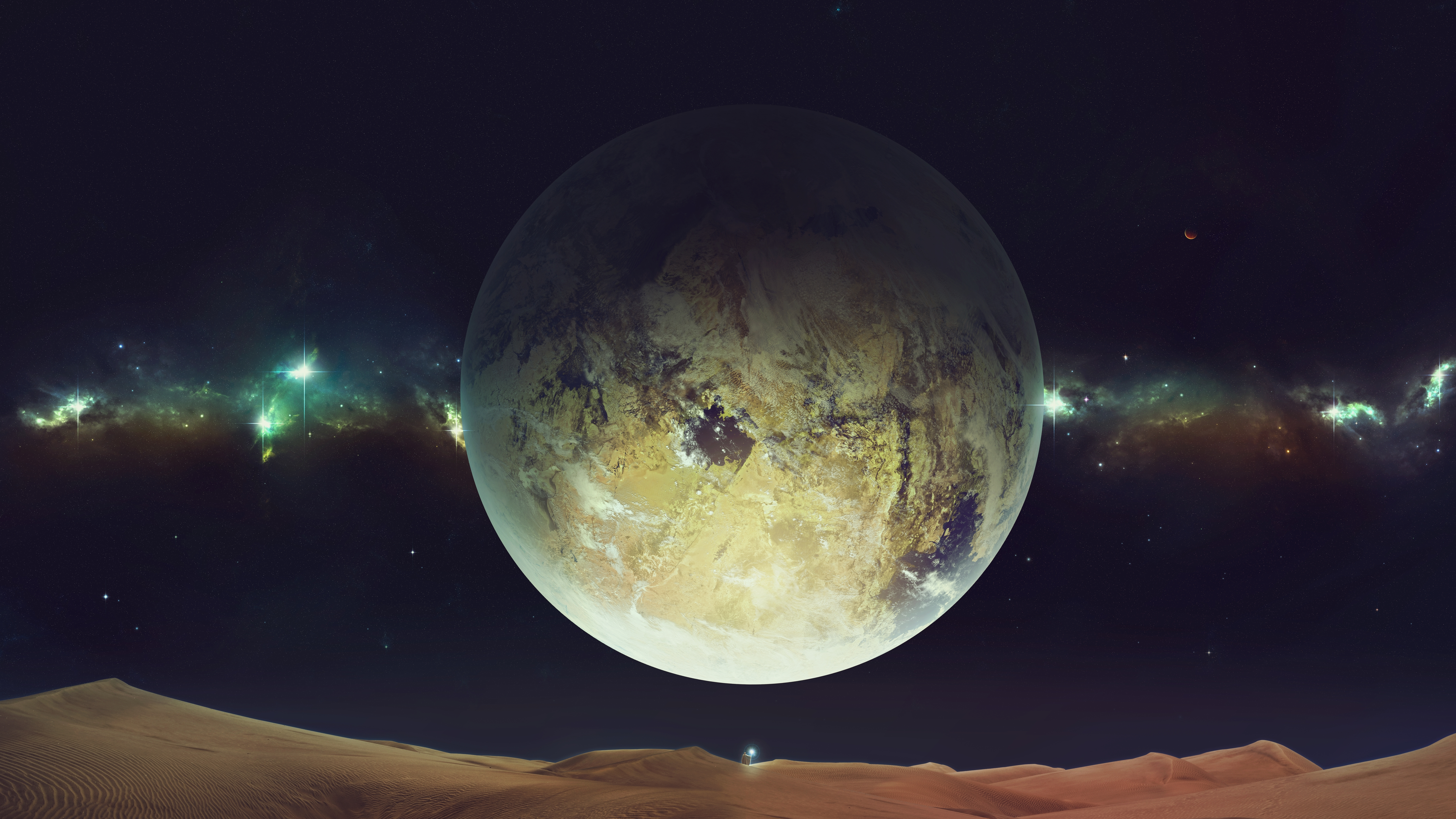 Space Planet Sky