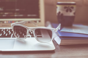 Sunglasses Laptop Notebook