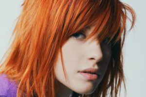 Hayley williams Actress Singer Face Redhead