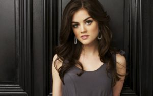 Lucy hale Brunette Smiling Stylish Charming