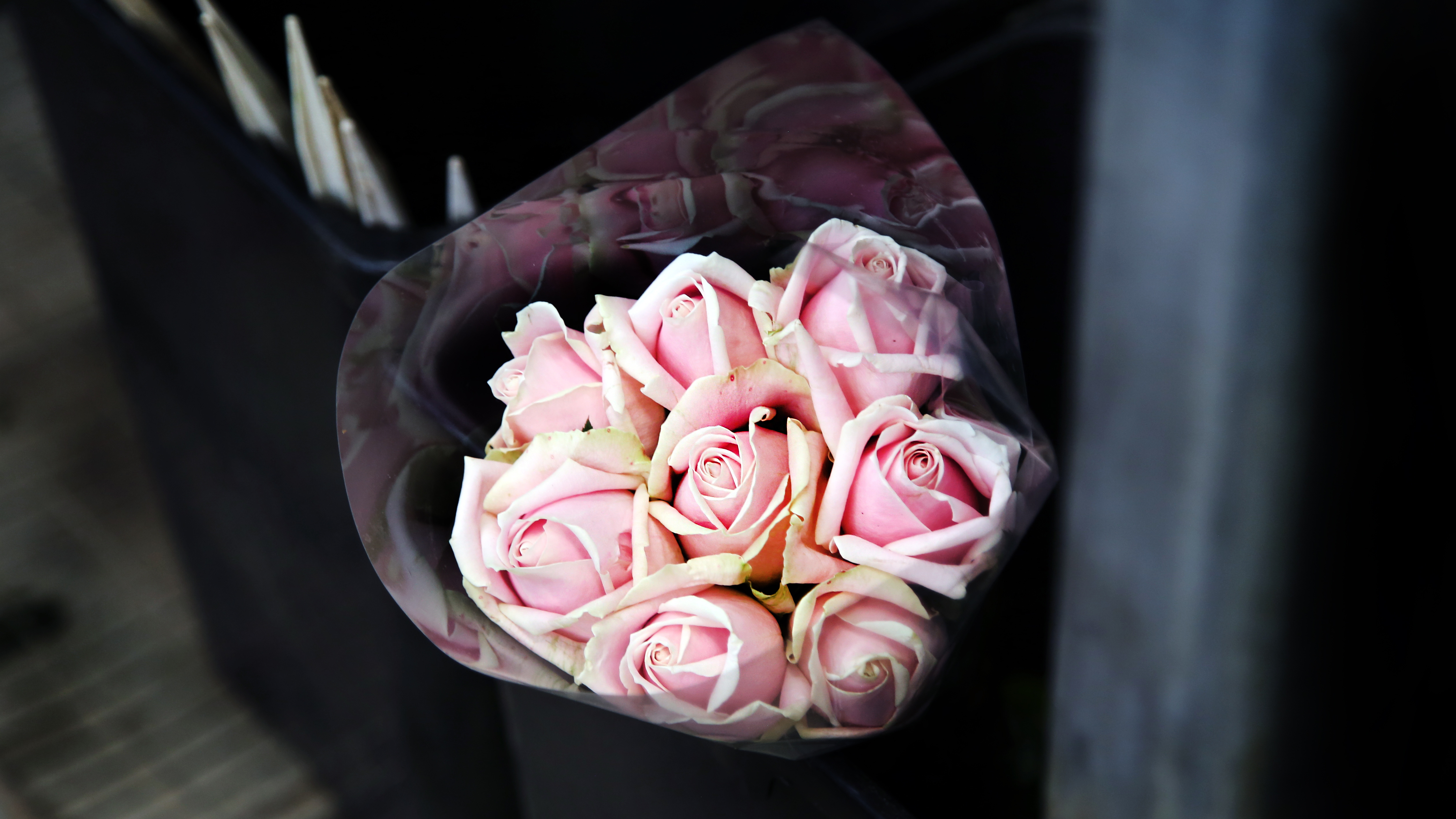 Roses Bouquet Pink