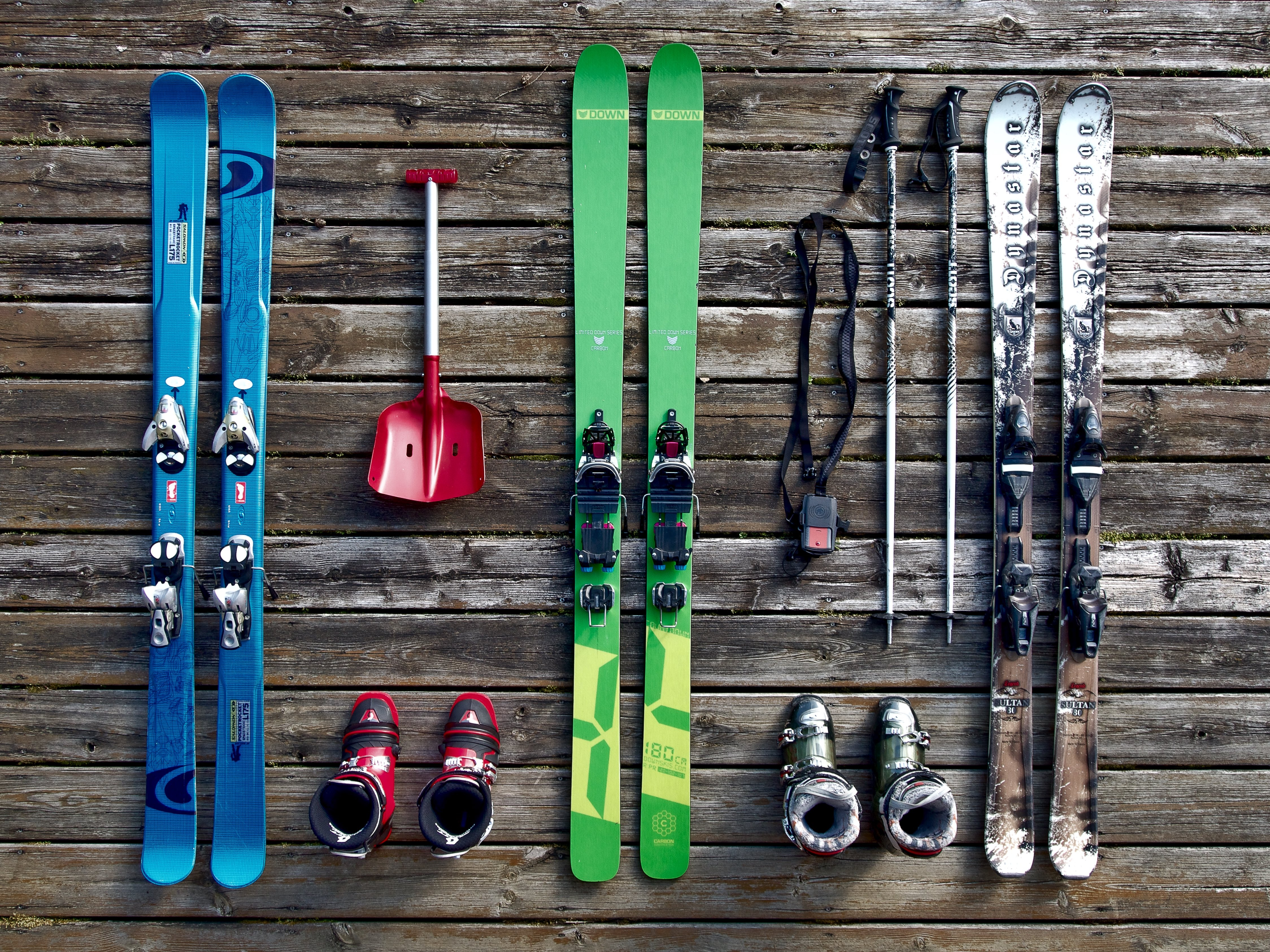 Skis Equipment Boots