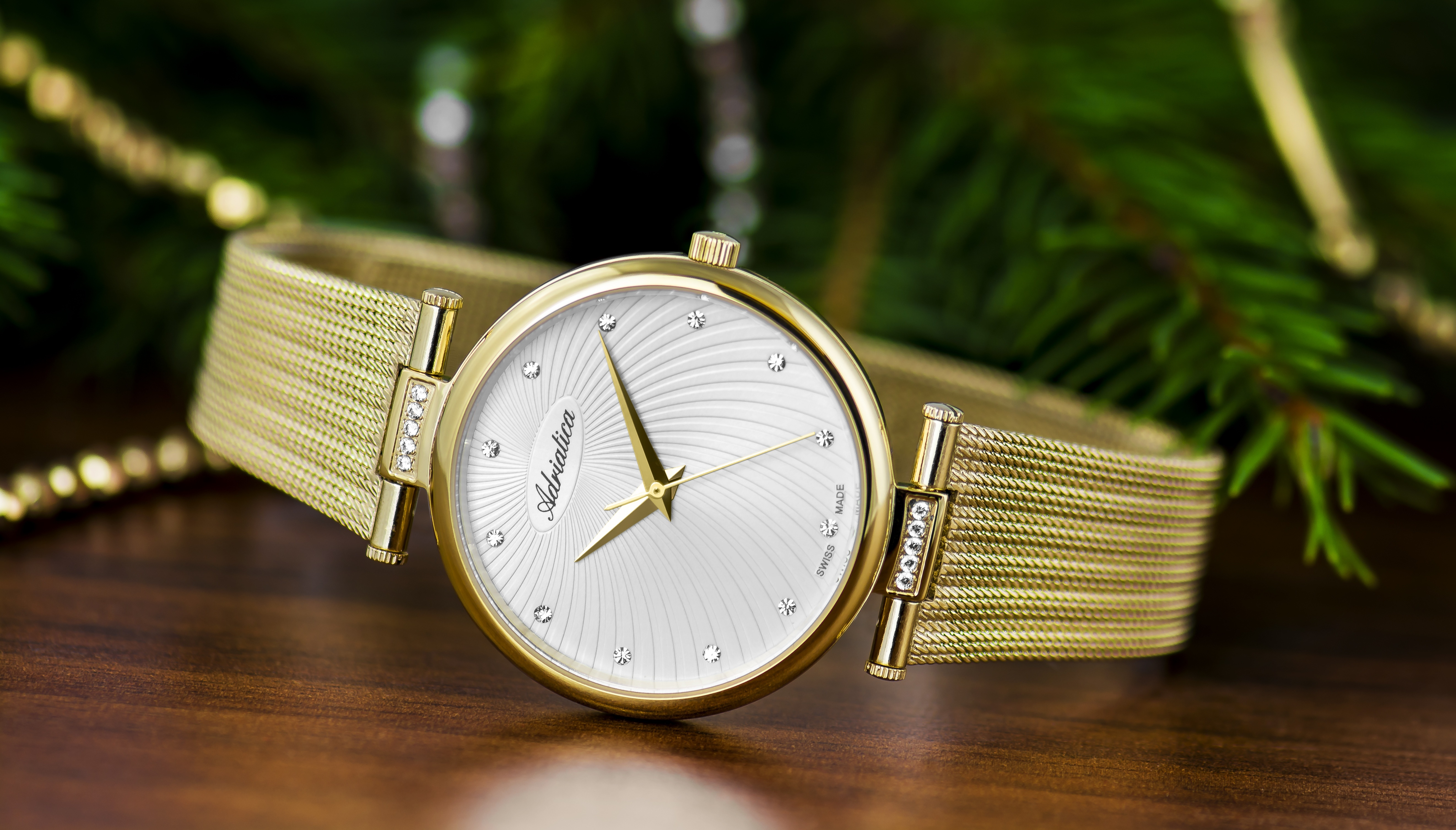 Adriatica Swiss watches Wristwatch
