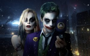 Suicide squad 2016 Jared leto Margot robbie