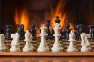 Chess Board Game FiresideChess Board Game Fireside