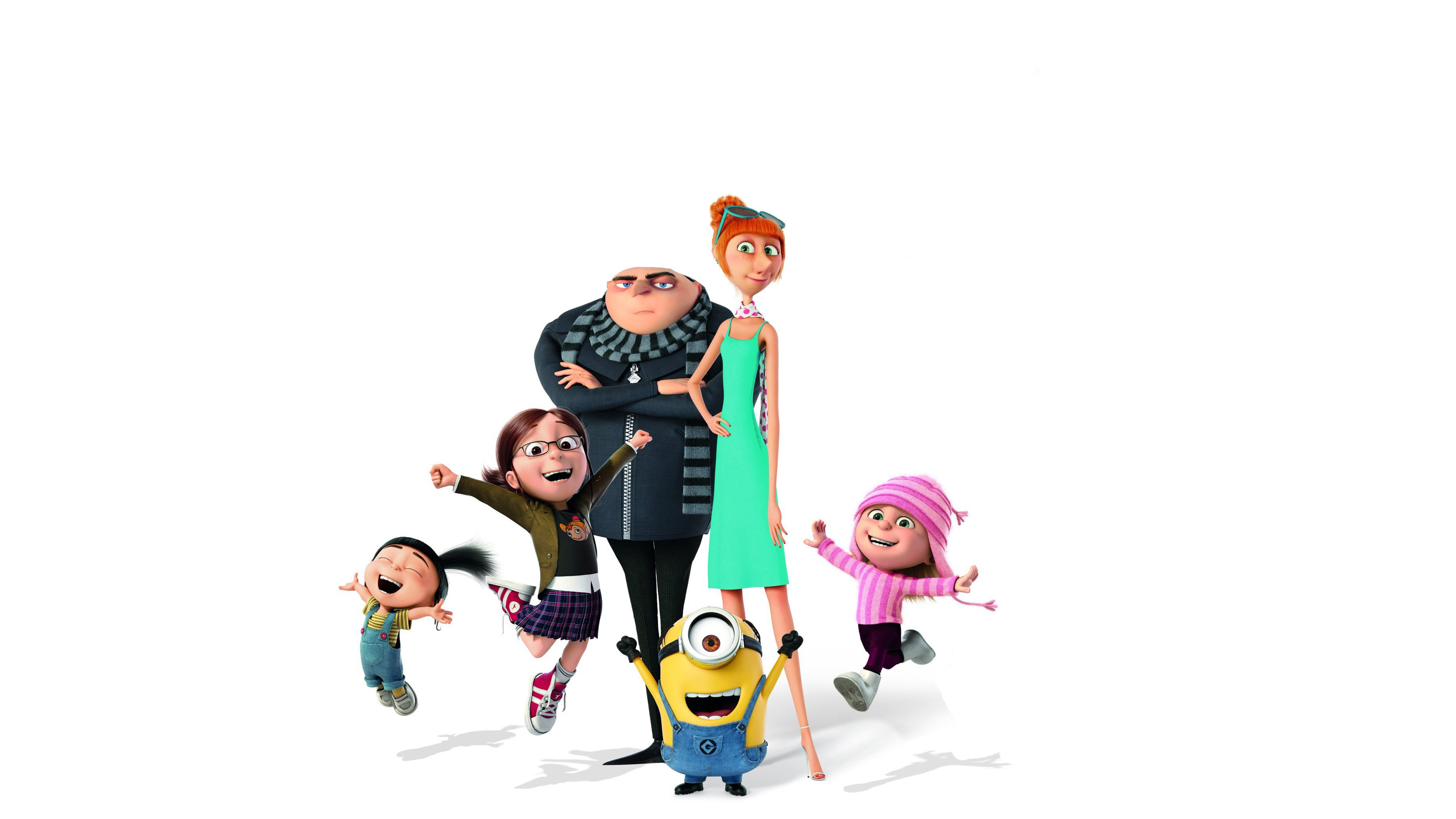 Despicable Me 3 Gru Margo Agnes Edith Lucy Wilde Minion Wallpapers