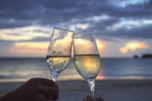 Glasses, Sparkling Wine, Cheers