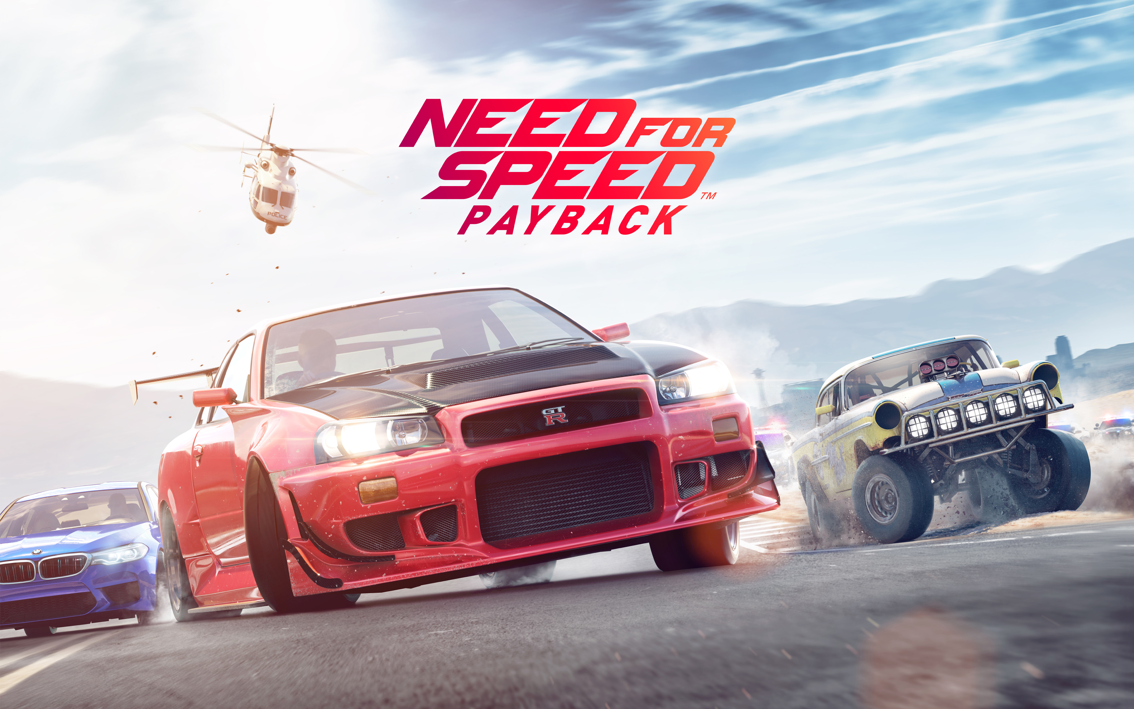 Need for Speed Payback 4K 8K Wallpapers