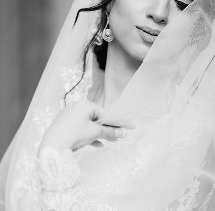 Attractive Beautiful Black And White