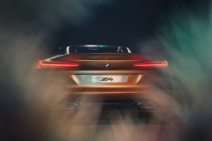 BMW Concept Z4 Rear view 2017 4k Automotive Cars