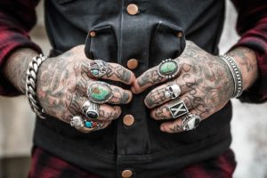 Hands Tattoos Rings Accessories