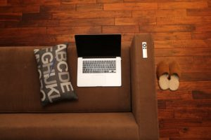 Home Office Notebook Home Couch