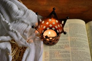 bible candle christianity