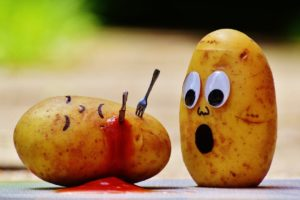 Shallow Focus Photography of Potato