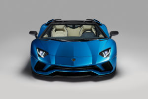 2017 Lamborghini Aventador S Roadster 4K Wallpapers