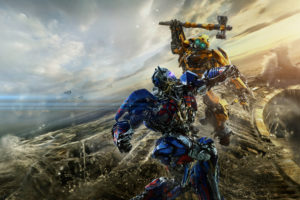 Bumblebee vs Optimus Prime Transformers The Last Knight 5K Wallpapers