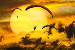Emotions Adventure Fly Parachute