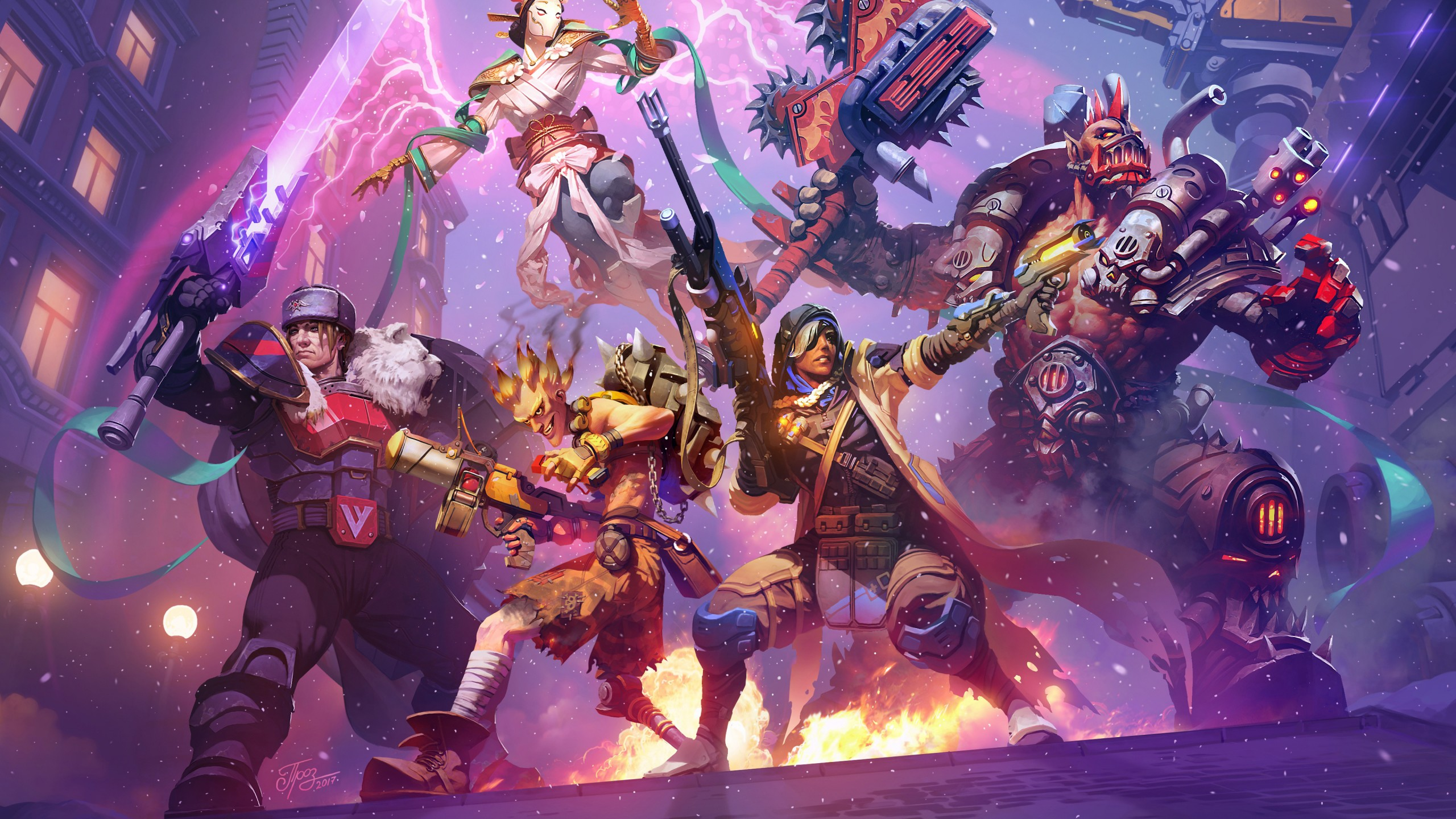 Heroes of the Storm 2017 4K Wallpapers