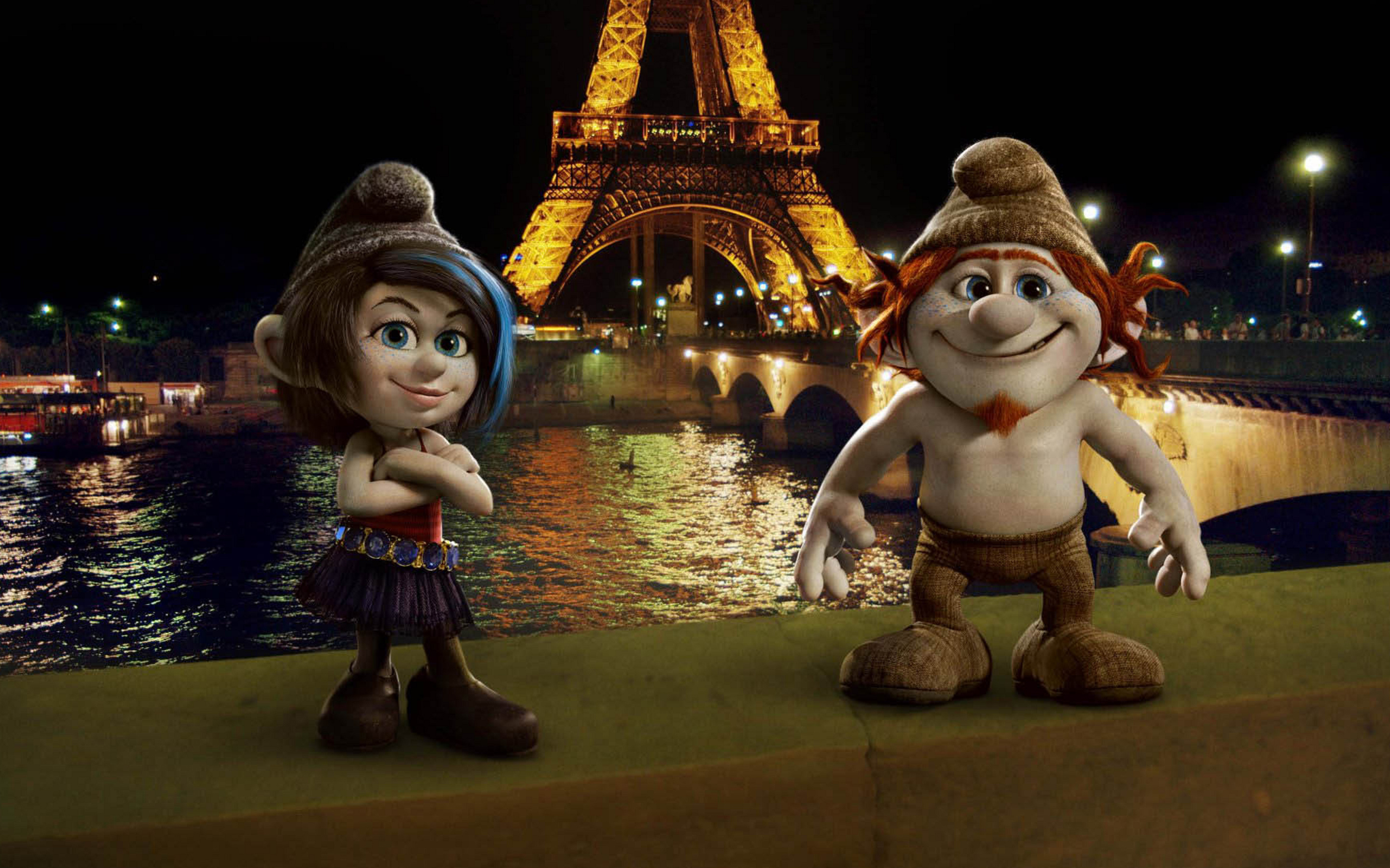 Vexy and Hackus in Smurfs 2