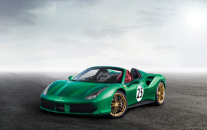 2017 Ferrari 488 Spider The Green Jewel