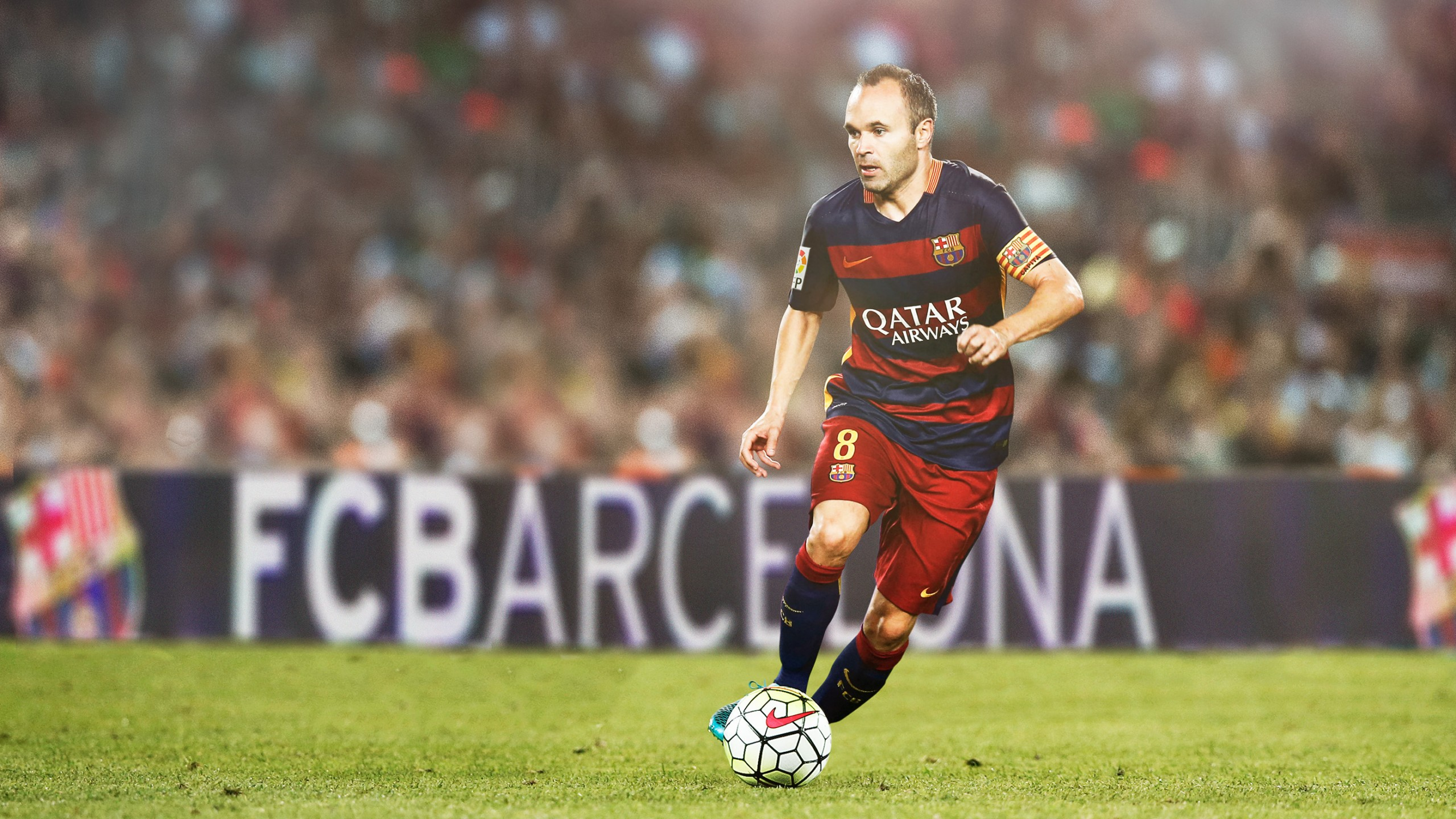 Andres Iniesta FC Barcelona HD Wallpapers