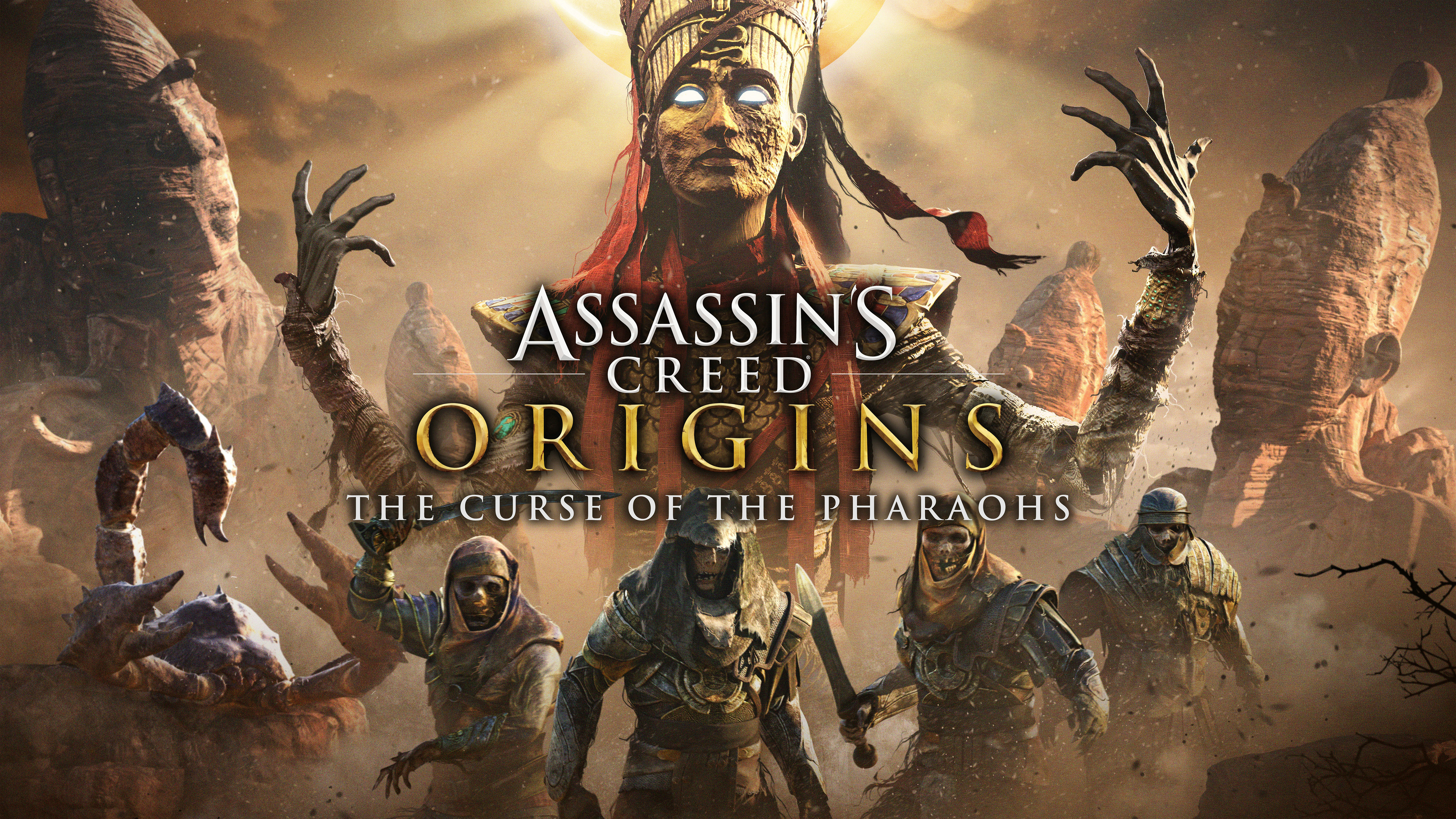 Assassins Creed Origins The Curse of The Pharoahs 5K Wallpapers