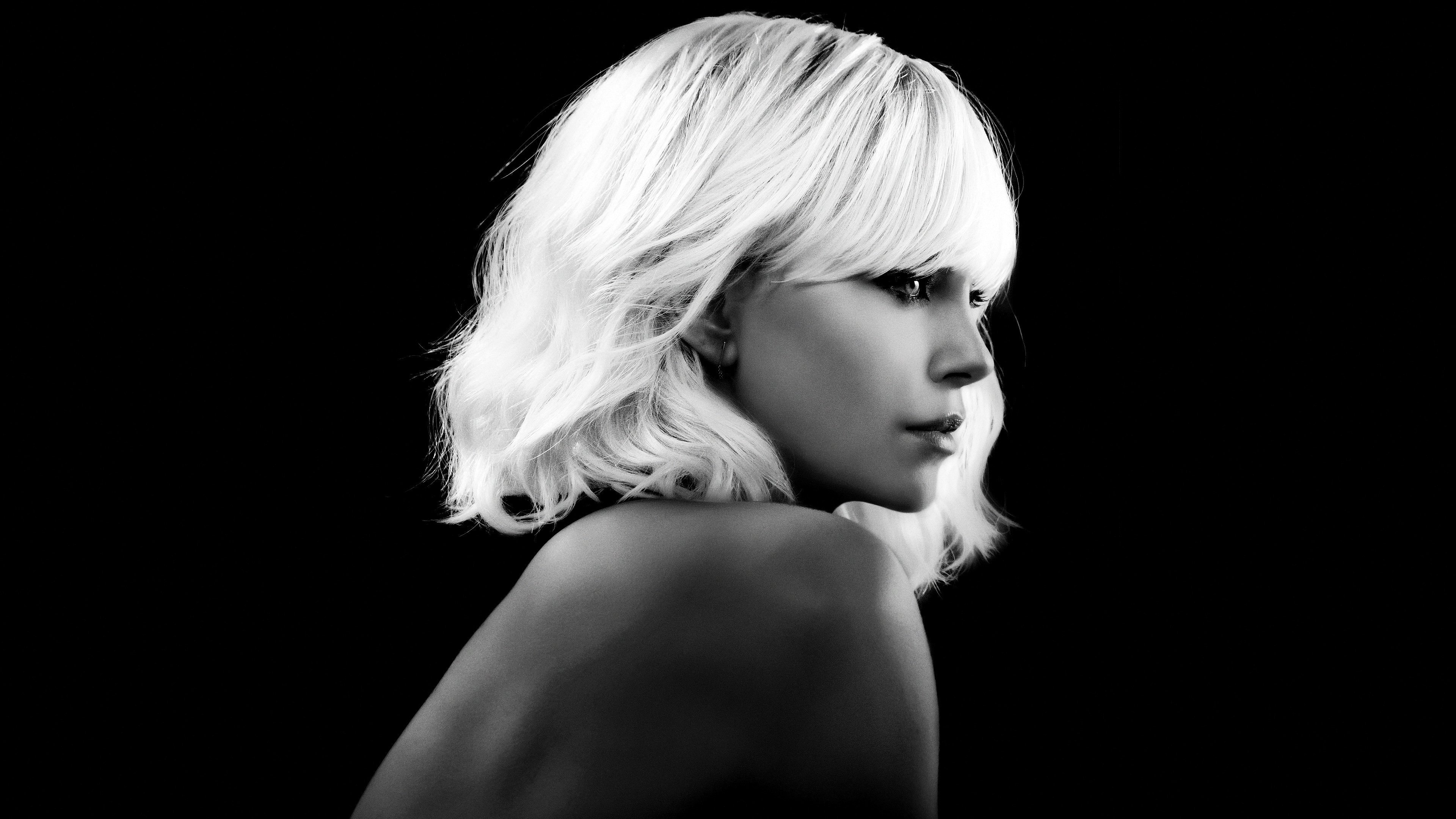 Charlize Theron in Atomic Blonde 4K Wallpapers