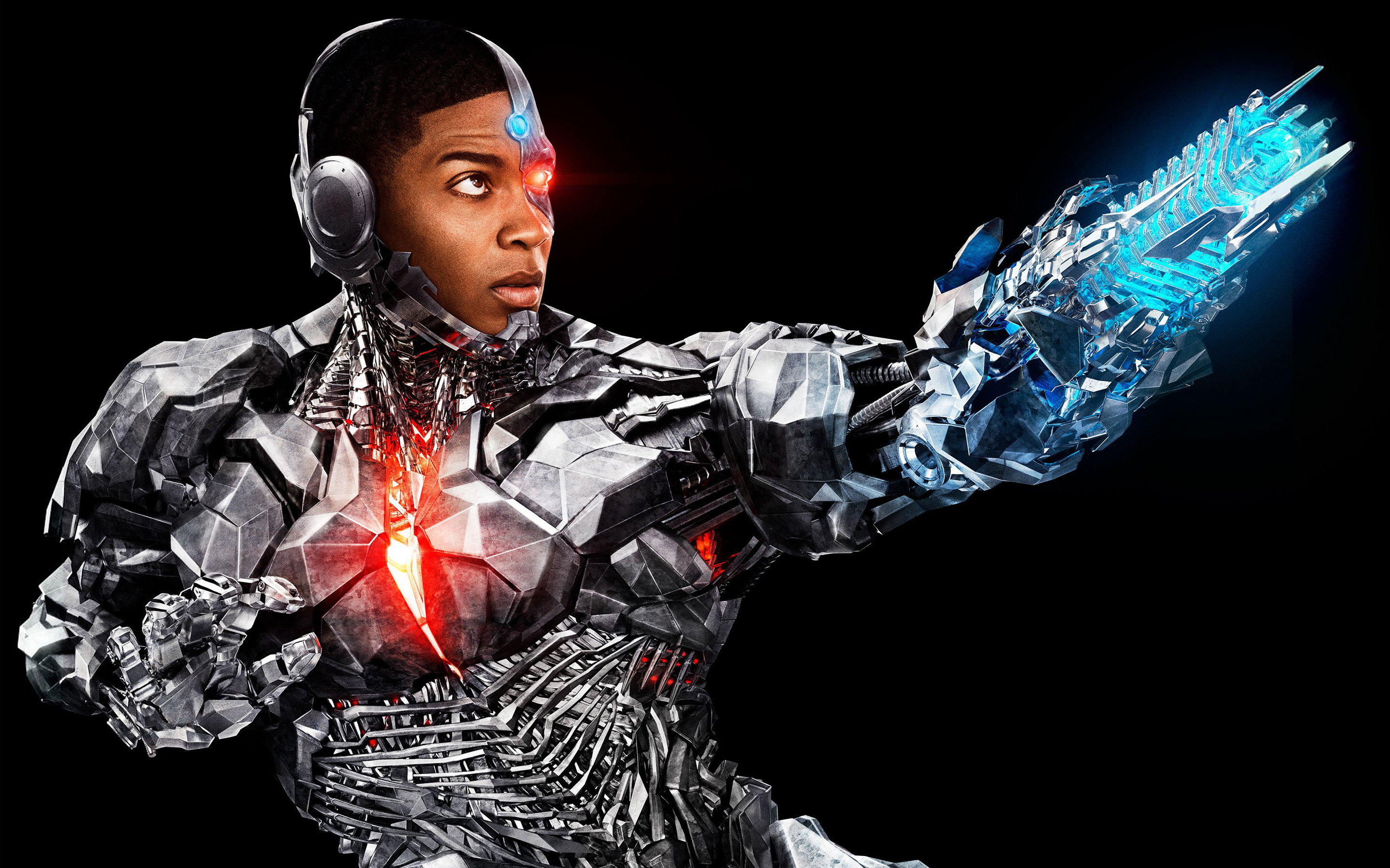 Cyborg in Justice League 4K Wallpapers