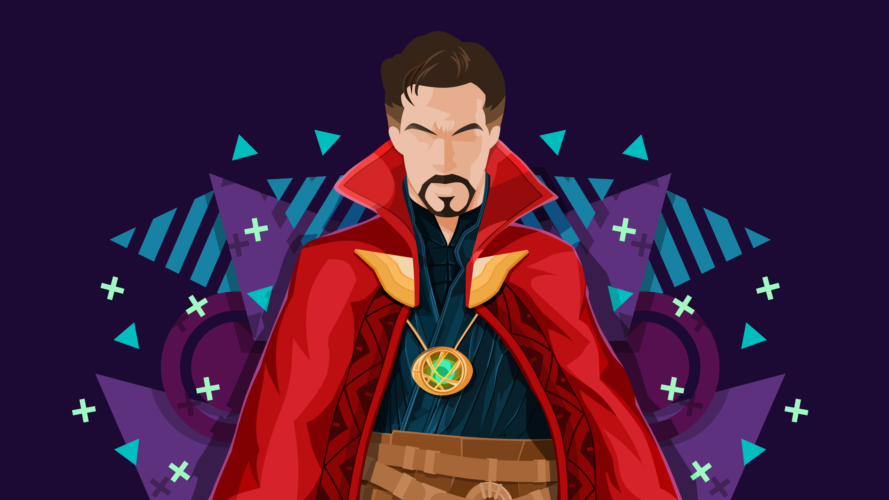 Doctor Strange Minimal Wallpapers