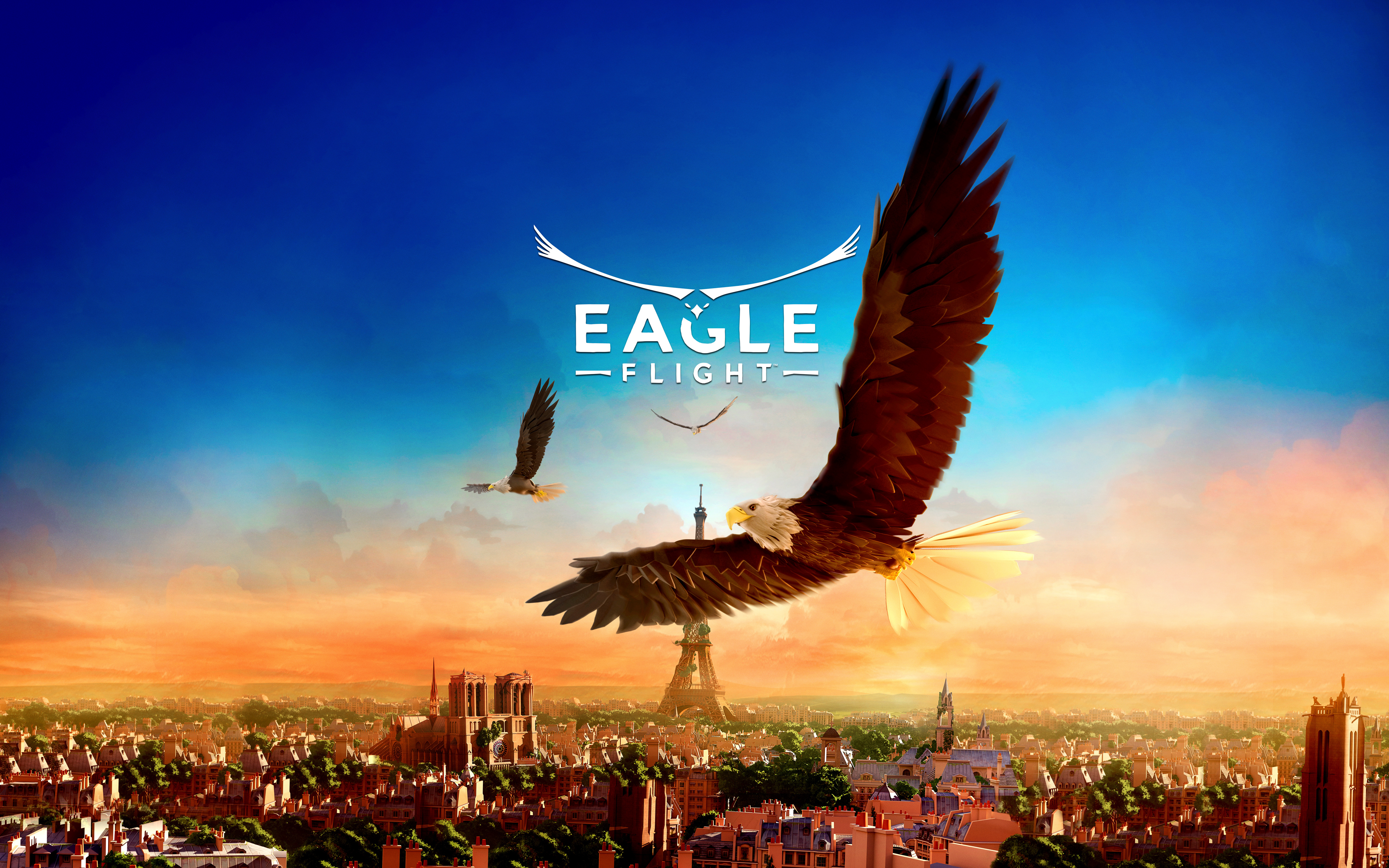 Eagle Flight Game 4K 8K Wallpapers