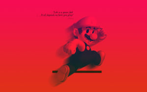 Life is a Game Mario Wallpapers