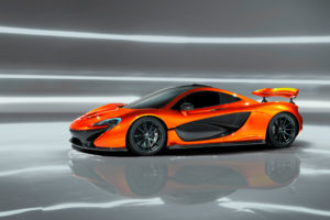 McLaren P1 Design Study Wallpapers