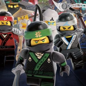 Ninja Warriors The LEGO Ninjago Movie 4K