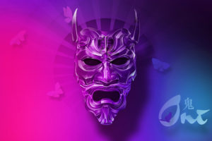 Oni Mask 4K Wallpapers