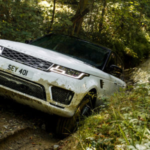 Range Rover Sport P400e Autobiography 2017 4K Wallpapers