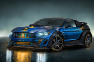 Shelby GT350R AMG Fusion Core 4K Wallpapers