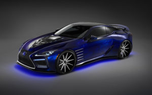 2017 Lexus LC Black Panther Special Edition