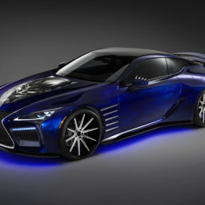 2017 Lexus LC Black Panther Special Edition Wallpapers